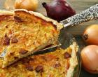 Torta integral de cebola: saudável e muito fácil de preparar