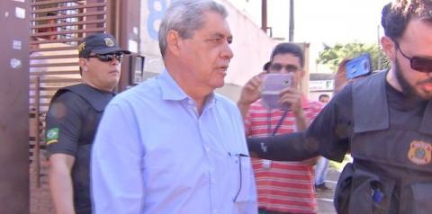 Ex-governador André Puccinelli e filho são presos pela PF em Campo Grande.