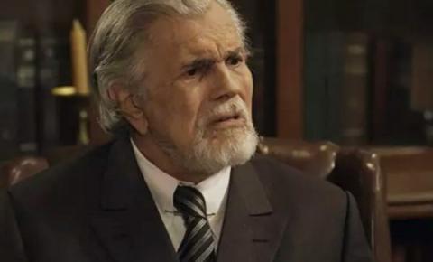Com a saúde debilitada, Tarcísio Meira se afasta de novela da Globo.