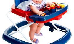 Tem problema o bebê usar andador?