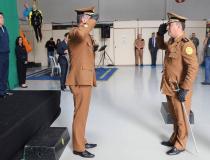 Unidade aérea da Polícia Militar tem novo comandante
