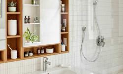 Armários para banheiros: 14 ideias lindas para aproveitar o espaço