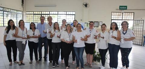 Diretoras da rede municipal de Cornélio Procópio participam de Curso em Gestão Escolar
