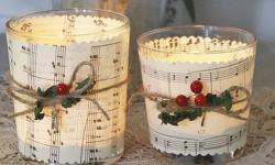 29 ideias para decorar a sua mesa de Natal com velas