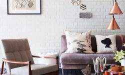 Sala de estar decorada com personalidade