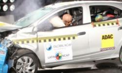 Novo Chevrolet Ônix Hatch gabarita teste de colisão do Latin Ncap
