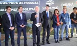 Estado inaugura obras de saneamento em Curitiba