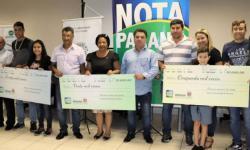 Nota Paraná entrega prêmios aos contemplados em janeiro