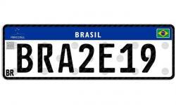 Como vai ficar a placa do seu carro no padrão Mercosul