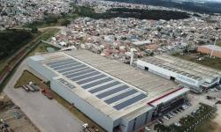 Siderúrgica recebe usina solar por meio de programa da Copel