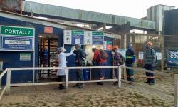 Controle sanitário é montado nos silos do Porto de Paranaguá