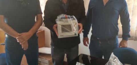Respiradores viabilizados por Lupion começam a chegar nos municípios.