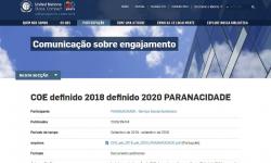 Paranacidade renova compromisso com o Pacto Global, da ONU