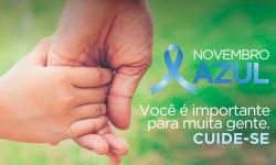 Novembro Azul conscientiza os homens para o cuidado com a vida