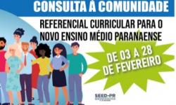 Novo Ensino Médio tem consulta à comunidade até 28 de fevereiro