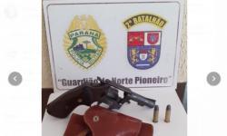 Homem é detido em Ibaiti por porte ilegal de arma
