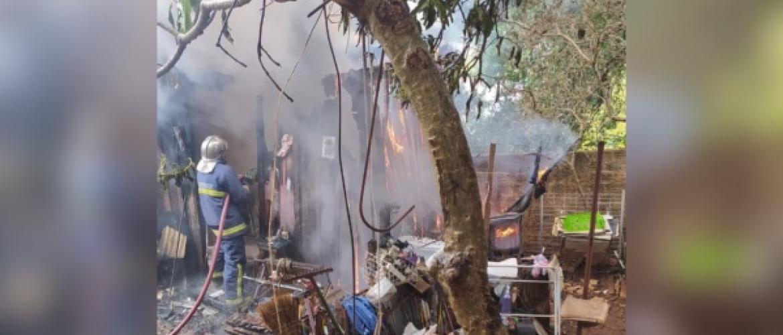 Siqueira Campos: Homem morre queimado após incêndio