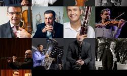 Os professores do VII Gramado in Concert