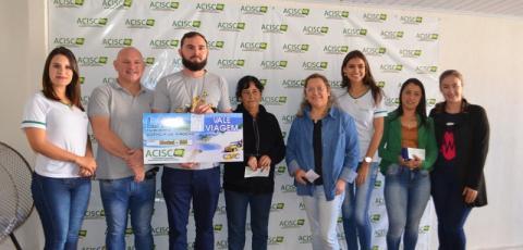 ACISC faz entrega de prêmios da Campanha Cultural Mães e Namorados