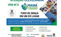 Governo do Estado levará Paraná Cidadão a Clevelândia