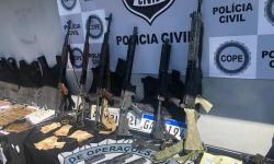 Polícia prende quadrilha suspeita de roubos a bancos