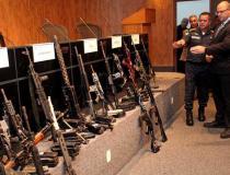 Polícia faz maior apreensão de armas e drogas do ano