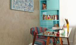 Canto de trabalho: 7 home offices coloridos para se inspirar