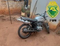 Em operação conjunta policiais recuperam moto e capturam possível autor do furto