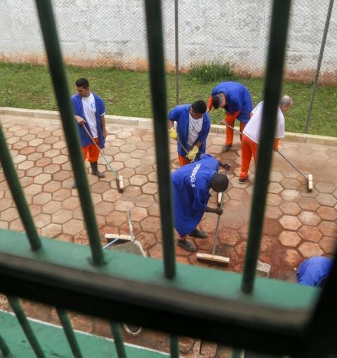 Paraná é o segundo Estado com maior número de presos trabalhando