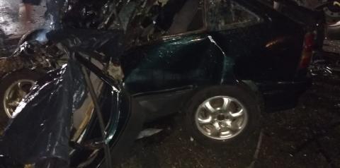 Irmãos morrem em grave acidente na PR092, há suspeita de suicídio