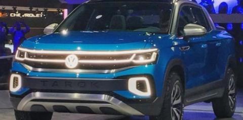 Fiat Toro terá nova rival: Volkswagen Tarok está pronta e chega ao Brasil em 2021