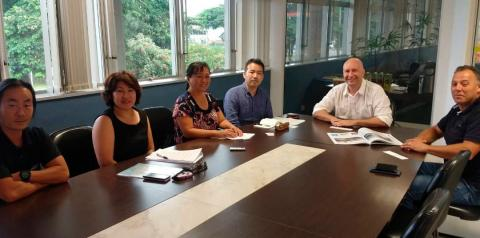 Japão busca novos negócios via Porto de Paranaguá