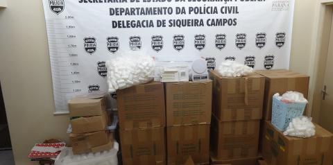 """Polícia Civil de Siqueira Campos é destaque estadual no combate a possíveis ilegalidades em """"medicamentos emagrecedores"""""""
