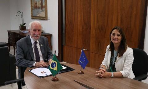Paraná e União Europeia discutem parcerias e investimentos