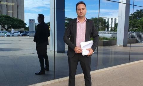Prefeito de Japira participa de audiência em Brasília para viabilizar obras para o município