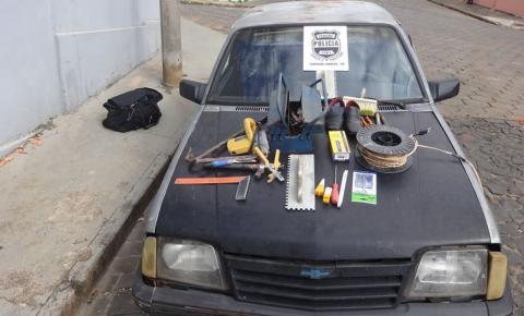 Polícia Civil de Siqueira Campos recupera veículo furtado em menos de 24 horas