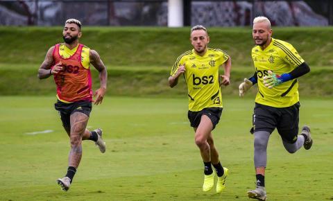 Flamengo se despede da torcida contra o Avaí