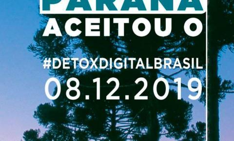 Paraná adere ao Dia Nacional do Desafio Detox Digital Brasil