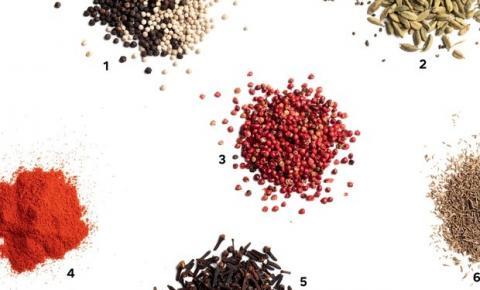 Aprenda características e receitas de 13 especiarias, como cravo, cardamomo e páprica