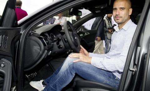 Técnico e... Barbeiro! Guardiola já bateu 4 carros na Inglaterra e causou prejuízo de mais de R$ 2 milhões
