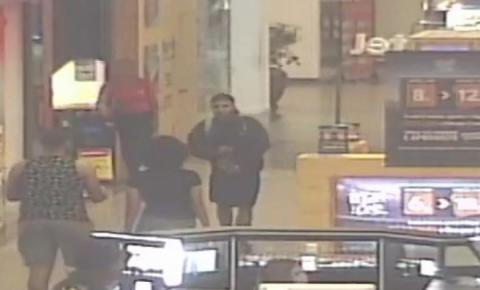 Câmeras flagram execução de PM em shopping de SG