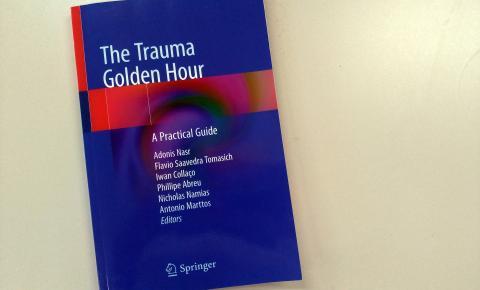 Hospital do Trabalhador lança livro sobre atendimento a traumas
