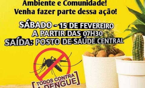 Arrastão contra dengue em Siqueira Campos