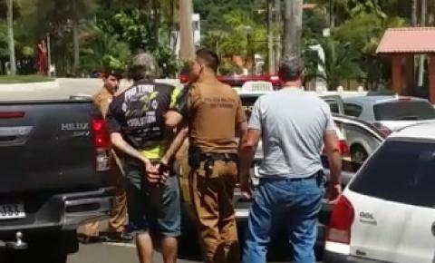 Ação conjunta entre Polícia Civil e Militar resulta na prisão de possível ladrão de veículos em Siqueira Campos
