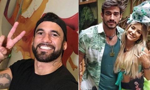 Eliminado do 'BBB 20', Hadson detona namoro do amigo Guilherme com Gabi: 'casal fake'