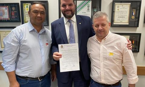 Pedro Lupion está em Brasília buscando melhorias e representando o município de Bandeirantes