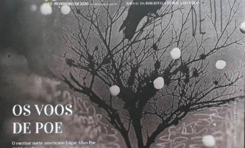 Jornal Cândido de fevereiro destaca legado de Allan Poe
