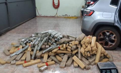 Polícia Civil apreende três toneladas de drogas em 15 dias