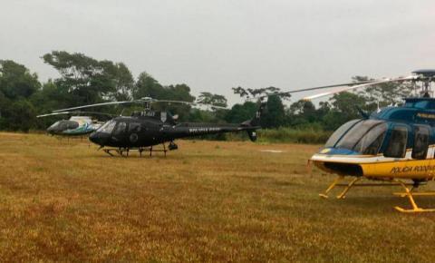 Polícia Civil atua nas buscas por militar no Rio Paraná