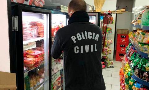 Polícia apreende produtos vencidos em mercado de Curitiba